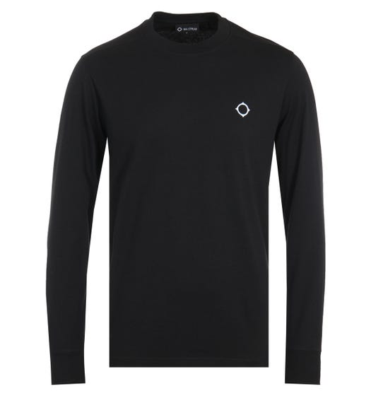 MA.Strum Icon Long Sleeve T-Shirt - Black