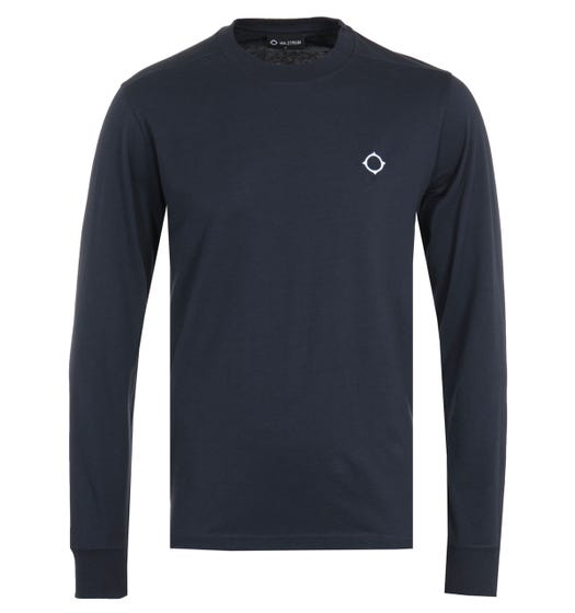 MA.Strum Icon Long Sleeve T-Shirt - Ink Navy