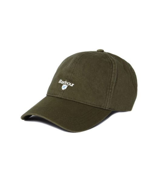 Barbour Olive Green Cascade Sports Cap