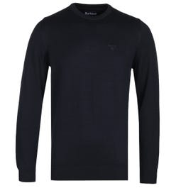 Barbour Pima Cotton Midnight Navy Knit Sweater