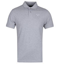 Barbour Sports Short Sleeve Grey Marl Polo Shirt