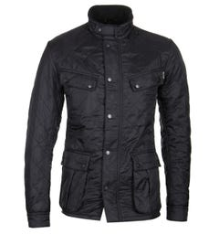 Barbour International Black Ariel Polarquilt Jacket