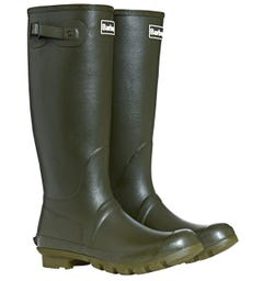 Barbour Bede Olive Green Wellington Boots