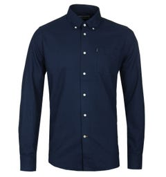 Barbour Navy Stanley Oxford Shirt