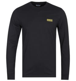 Barbour International Black Long Sleeve T-Shirt