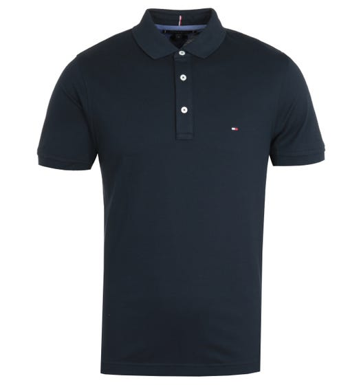 Tommy Hilfiger Slim Fit Polo Shirt - Navy