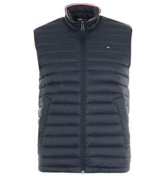 Tommy Hilfiger Packable Down Gilet - Navy