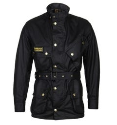 Barbour International Original Black Wax Jacket