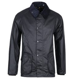Barbour Bedale Navy Wax Jacket