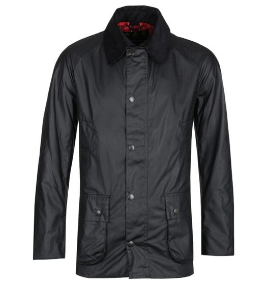 Barbour Ashby Black Wax Jacket