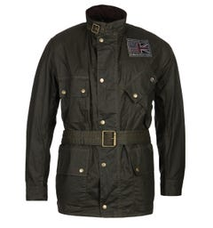 Barbour International Joshua Green Wax Jacket