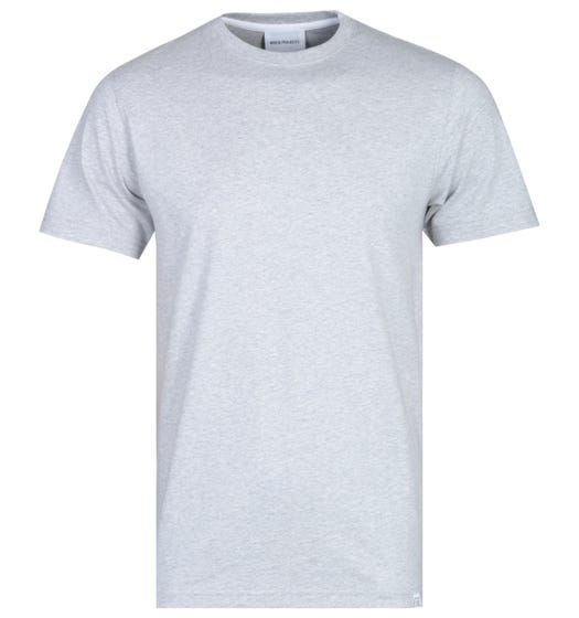 Norse Projects Niels Light Grey Standard T-Shirt
