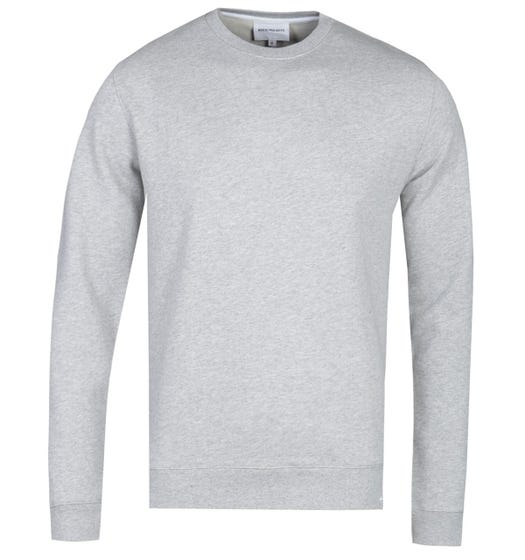 Norse Projects Vagn Classic Crew Sweatshirt - Grey Marl