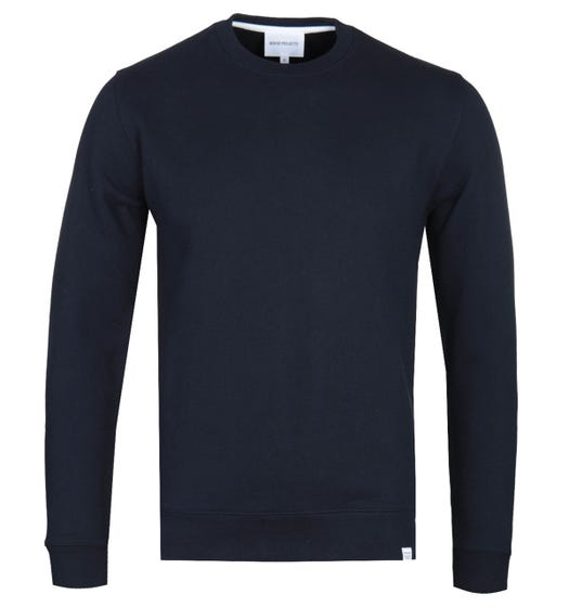 Norse Projects Vagn Classic Crew Sweatshirt - Navy