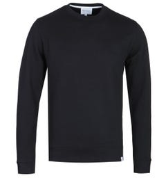 Norse Projects Vagn Black Crew Neck Sweatshirt