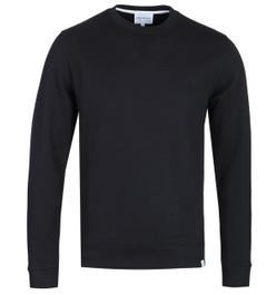 Norse Projects Vagn Classic Crew Sweatshirt - Black