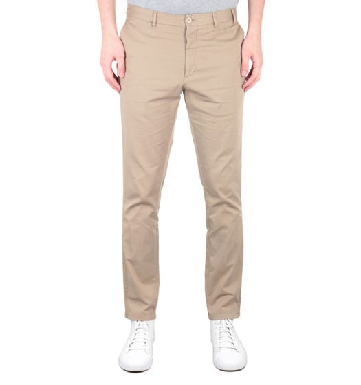 Norse Projects Aros Slim Stretch Chinos - Khaki