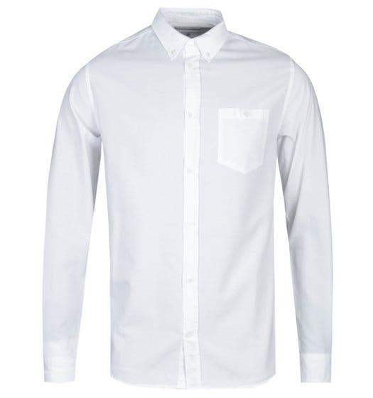 Norse Projects Anton Regular Fit White Oxford Shirt