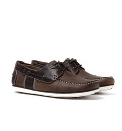 Barbour Capstan Beige/Brown Boat Shoes