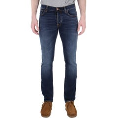Nudie Jeans Grim Tim Ink Navy Slim Fit Jeans