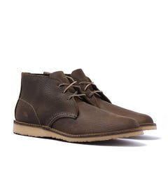 Red Wing 3327 Weekender Chukka Olive Brown Roughneck Boots
