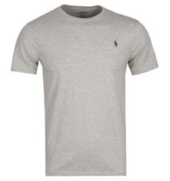 Polo Ralph Lauren Custom Slim Fit Grey T-Shirt