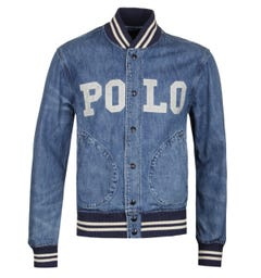 Polo Ralph Lauren Denim Varsity Jacket