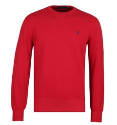 Polo Ralph Lauren Crew Red Sweatshirt