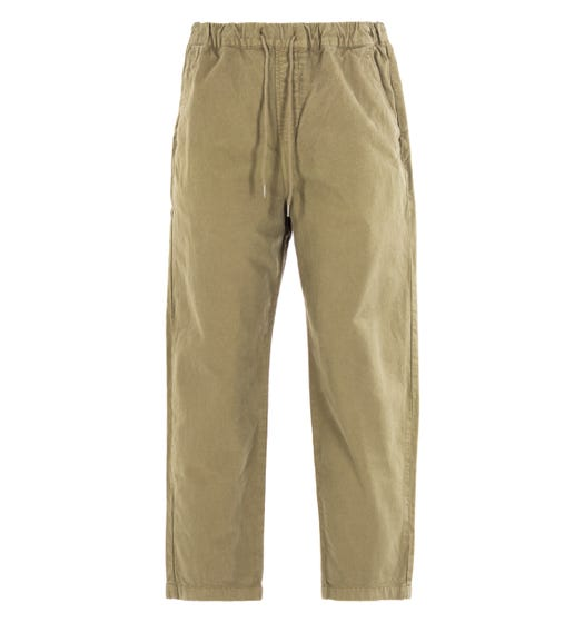 Albam Hendry Olive Drawstring Trousers