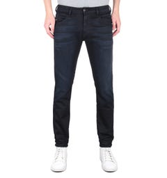 Diesel D-Bazer Tapered Fit Dark Navy Denim Jeans