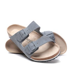 Birkenstock Arizona Desert Soil Grey Leather Sandals