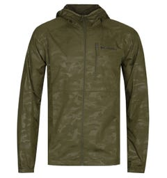 Columbia Flash Forward Forest Green Windbreaker