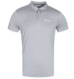 Columbia Triple Canyon Grey Marl Tech Polo Shirt