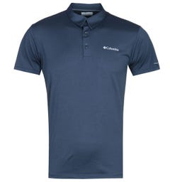Columbia Triple Canyon Navy Tech Polo Shirt