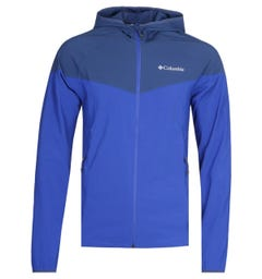 Columbia Heather Electric Blue Canyon Jacket