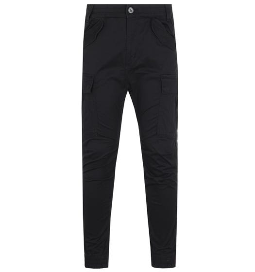 Alpha Industries Airman Black Cargo Trousers