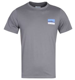 Columbia Rapid Ridge Back Graphic Grey T-Shirt