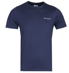 Columbia Rapid Ridge Back Graphic Navy T-Shirt