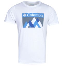 Columbia Alpine Way White Graphic T-Shirt