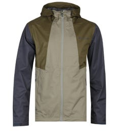 Columbia Inner Limits II Forest Green Lightweight Jacket