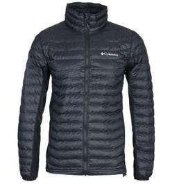 Columbia Powder Pass Black Padded Jacket