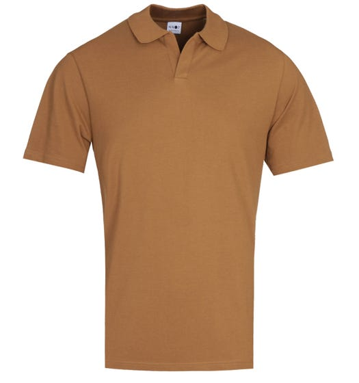 NN07 Paul 3463 Regular Fit Canela Brown Polo Shirt