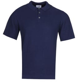 NN07 Alfie 6382 Relaxed Fit Navy Polo Shirt