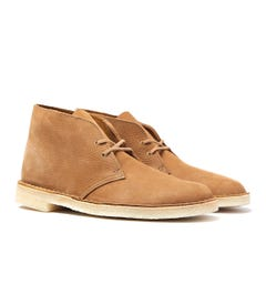 Clarks Originals Oak Brown Nubuck Desert Boots
