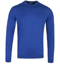 Emporio Armani Arm Logo Deep Blue Sweater