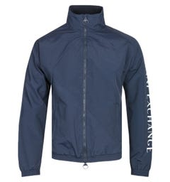Armani Exchange Lightweight Navy Track Jacket