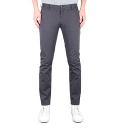 BOSS Slim Fit Charcoal Grey Rice3-D Chinos