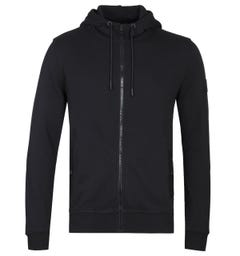 BOSS Zounds Zip Through Black Hoodie