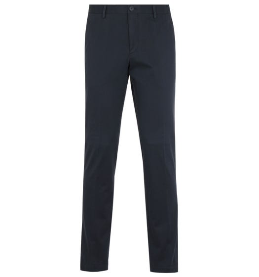 BOSS Standino Slim Fit Dark Navy Chinos