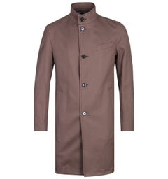 BOSS Shanty Water-Repellent Brown Formal Jacket